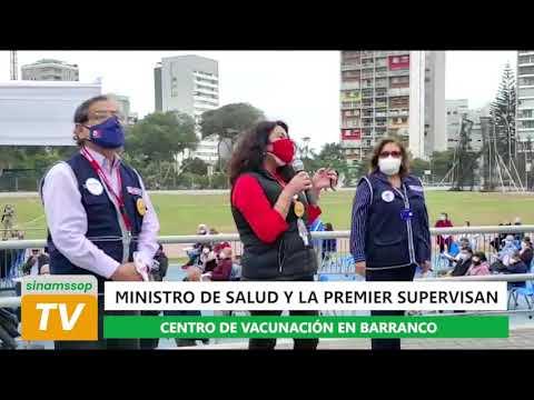 MINISTRO DE SALUD Y PREMIER EN CHORRILLOS