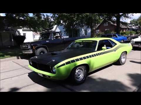 Classic Car Show Nebraska Rod & Custom Association 2017