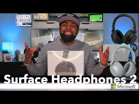 Microsoft Surface Headphones 2 | Unboxing & First Impressions