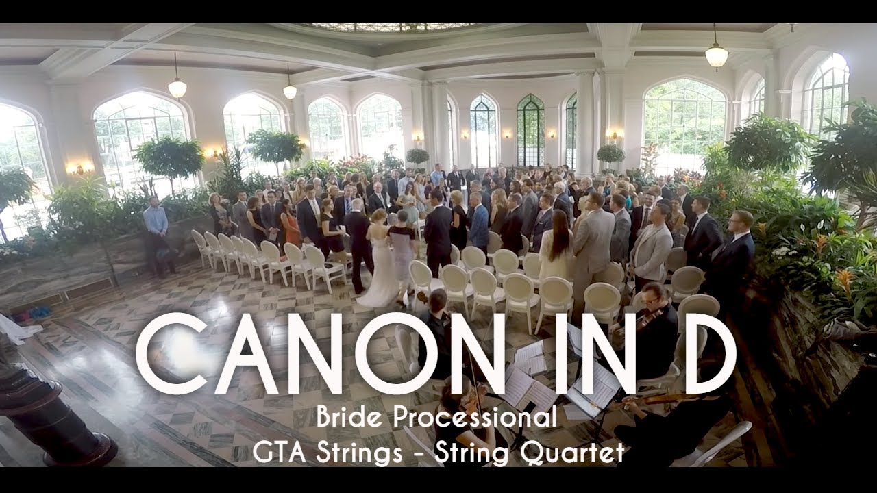 Canon in d wedding processional string quartet youtube canon in d wedding processional string quartet junglespirit Image collections