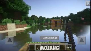 MCPE 0.13.0 SHADERS MAIS REALISTA DE TODAS!