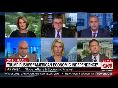 Ali Velshi responds to Donald Trump's trade policy speech