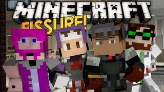 Minecart Puzzles! Minecraft: Fissure! w/ Setosorcerer, Kkcomics, & Co. (2)