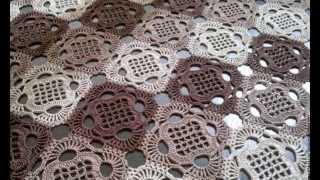 Вязание квадратного мотива от Лены Мастерицы