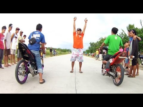 RAIDER METHANOL vs SNIPER UNLEADED drag racing suzuki yamaha
