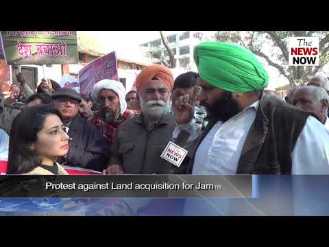 Ring road land owners protest, demand proper compensation