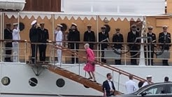 Queen Margrethe II of Denmark in Helsinki June 14 2019 Tanskan kuningatar Margareeta II Helsingissä