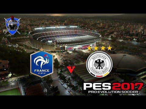 PES 2017 DEMO GAMEPLAY - FRANCE V GERMANY