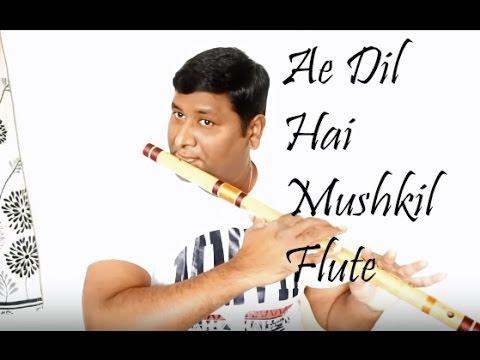 Ae Dil Hai Mushkil Flute Cover   Arijit Sing   Instrumental   Vinaya Kancharla thumbnail