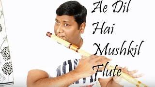 Ae Dil Hai Mushkil Flute Cover | Arijit Sing | Instrumental | Vinaya Kancharla