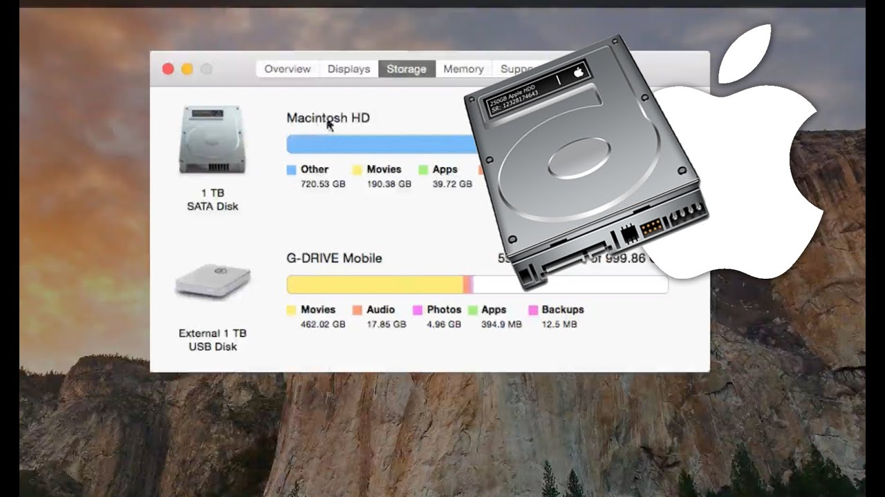 how to clear space on mac youtube