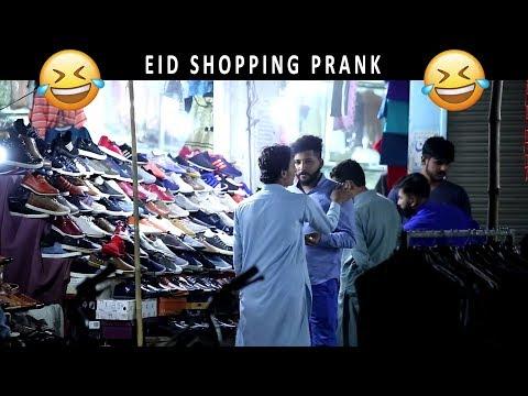 EID Shopping Prank by Shahrukh | Lahori PrankStar