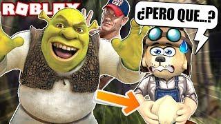 The MOST RARE SHREK MAP OF ALL ROBLOX 🤨 - Shrek The Force Awakens