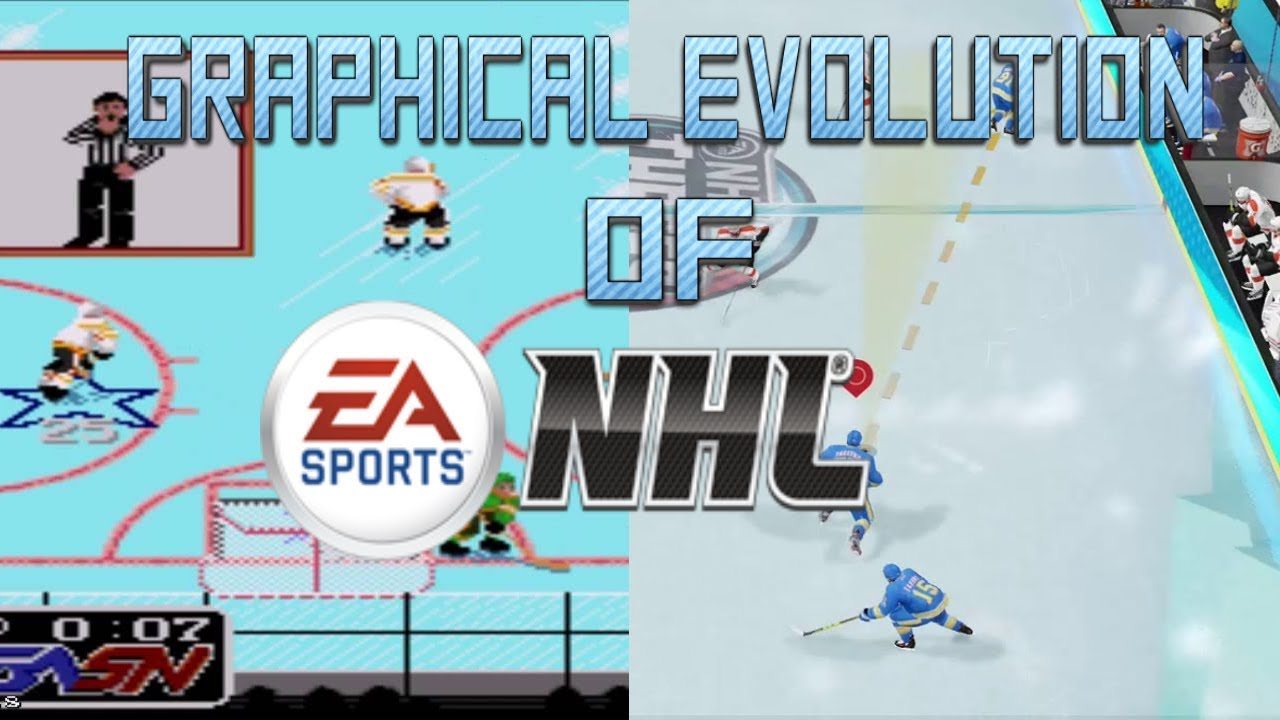 Graphical Evolution Of Nhl 1991 2018 Youtube