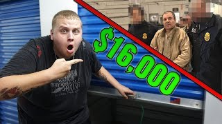 I Bought a DRUG LORD's Storage Unit and FOUND $16,000 CASH! I Bought an Abandoned Storage Unit!