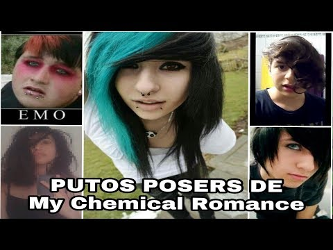 PUTOS POSERS DE My Chemical Romance