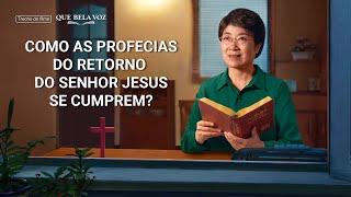 """Filme evangélico """"Que bela voz"""" Trecho 1 – Como as profecias do retorno do Senhor Jesus se cumprem?"""
