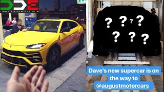 Did DDE BUY an URUS?!