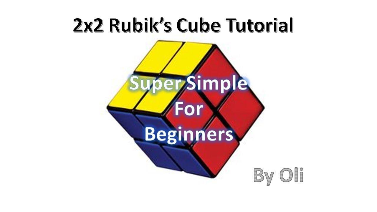 easy 2x2 rubik s cube tutorial beginner simple no algorithms  [ 1280 x 720 Pixel ]