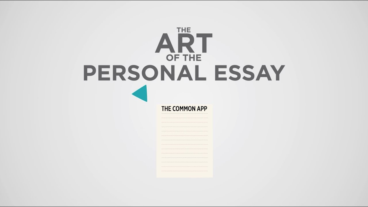 Advice on common application essay topic?