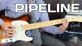 Pipeline by The Ventures - YourGuitarSage Guitar Lesson