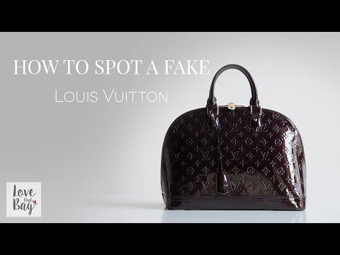 b170323370 How to Spot a Fake: Louis Vuitton Handbag - YouTube