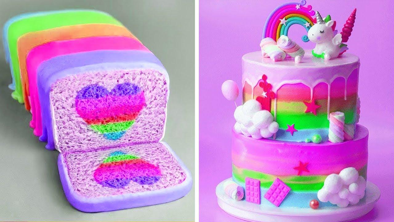 Best Colorful Cake Decorating Tutorials | So Tasty Cake Decorating Ideas | Yummy Cake Recipes