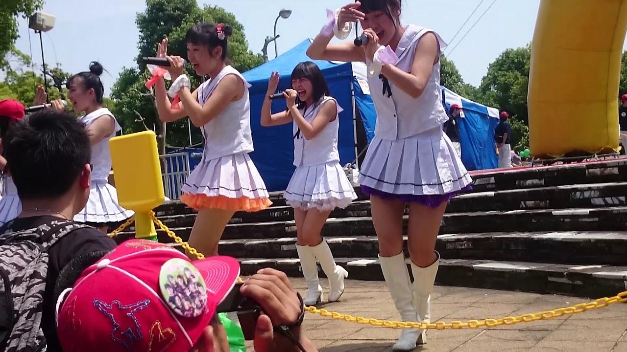 [追悼]大本萌景さん #愛の葉Girls  2016.5.22 愛南びやびや祭り
