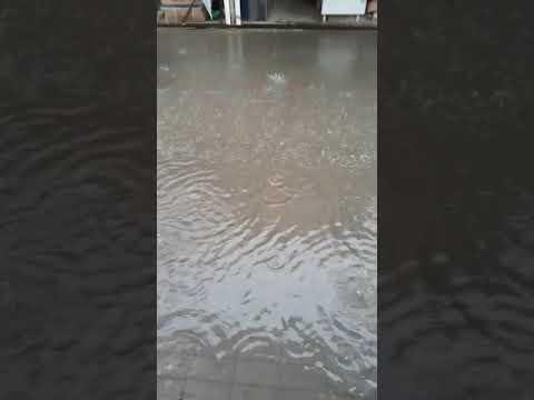 """""""Потоп"""" на рынке в Морозовске, 26.07.2019"""