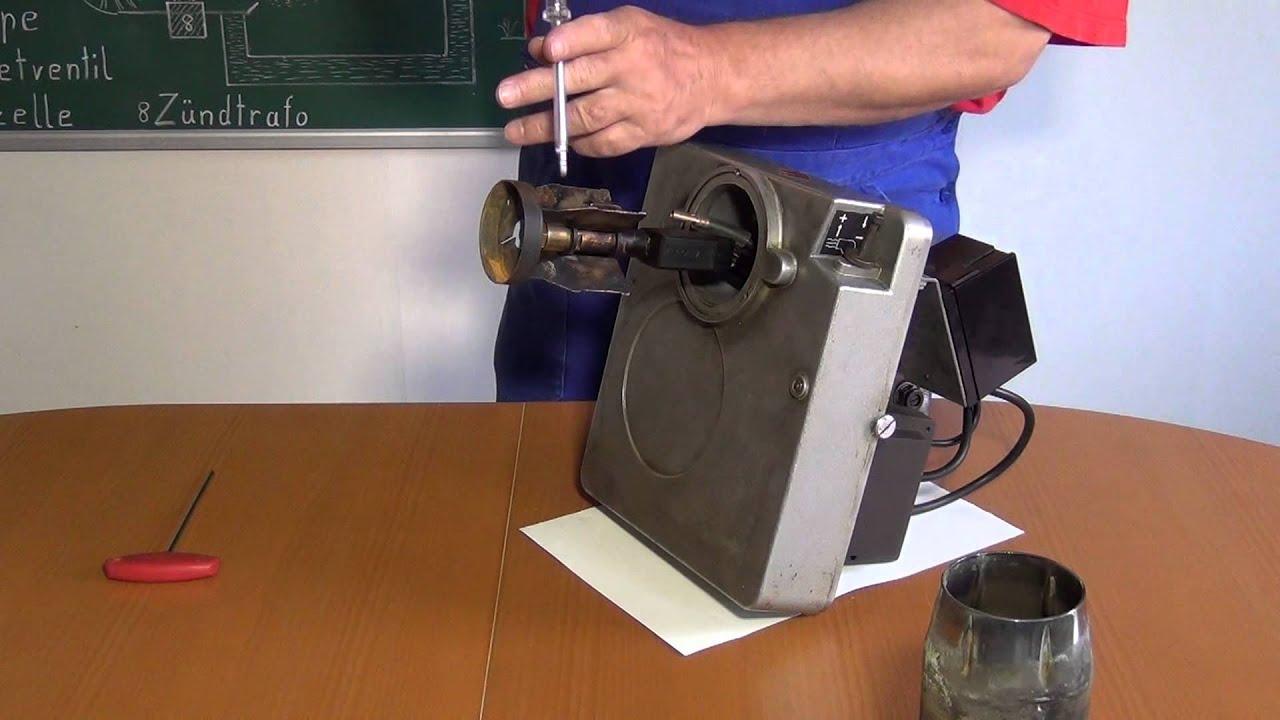 Bauteile und Funktionsablauf von einem Ölbrenner - YouTube