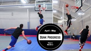 """""""Why Did That Look Effortless?"""" -  Dunk Progress Year 3 Month 2 Video"""