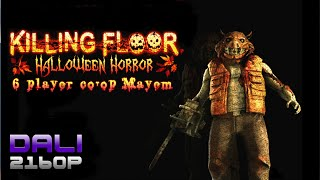 Killing Floor Halloween Horror 6-player co-op PC 4K Gameplay 2160p