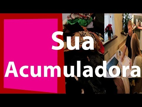 ACUMULADORA FILHA AJUDA A MÃE - CLOSET  01  CanaldaJoaninha
