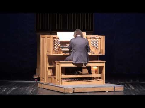 Александр Князев, орган. Alexander Knyazev, organ, in Novosibirsk