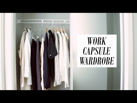 CAPSULE WARDROBE AND STYLING | WORK EDITION