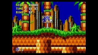 Sonic the Hedgehog CD (SCD) (J) [Good Future/ All Emeralds] Longplay