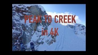PEAK TO CREEK in 4K at Whistler