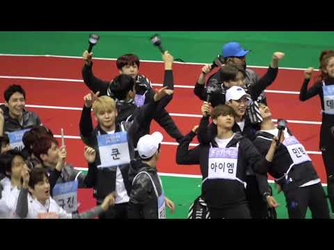 All The Monsta X Moments @ 2018 ISAC [Idol Star Athletic Championships]