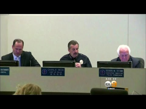 Download LAPD Chief Charlie Beck Addresses Allegations In Closed Door Meeting