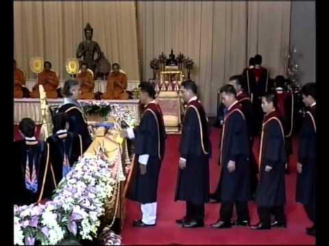พิธีพระราชทานปริญญาบัตรแก่บัณฑิตรามคำแหง รุ่นที่ 39 วันที่ 7 มีนาคม 2557 คาบเช้า