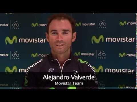 Alejandro Valverde te invita a la Marcha Ciclista Movistar de Murcia 2013