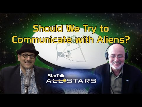 Should We Try to Communicate with Aliens?