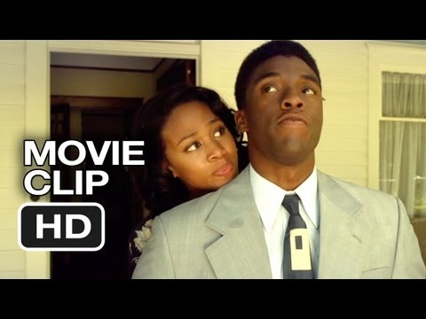 42 Movie CLIP - God Built Me To Last (2013) - Jackie Robinson Movie HD
