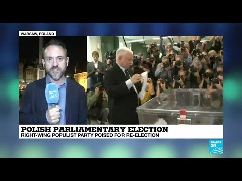 Polish Parliamentary election: Right-wing populist party poised for re-election