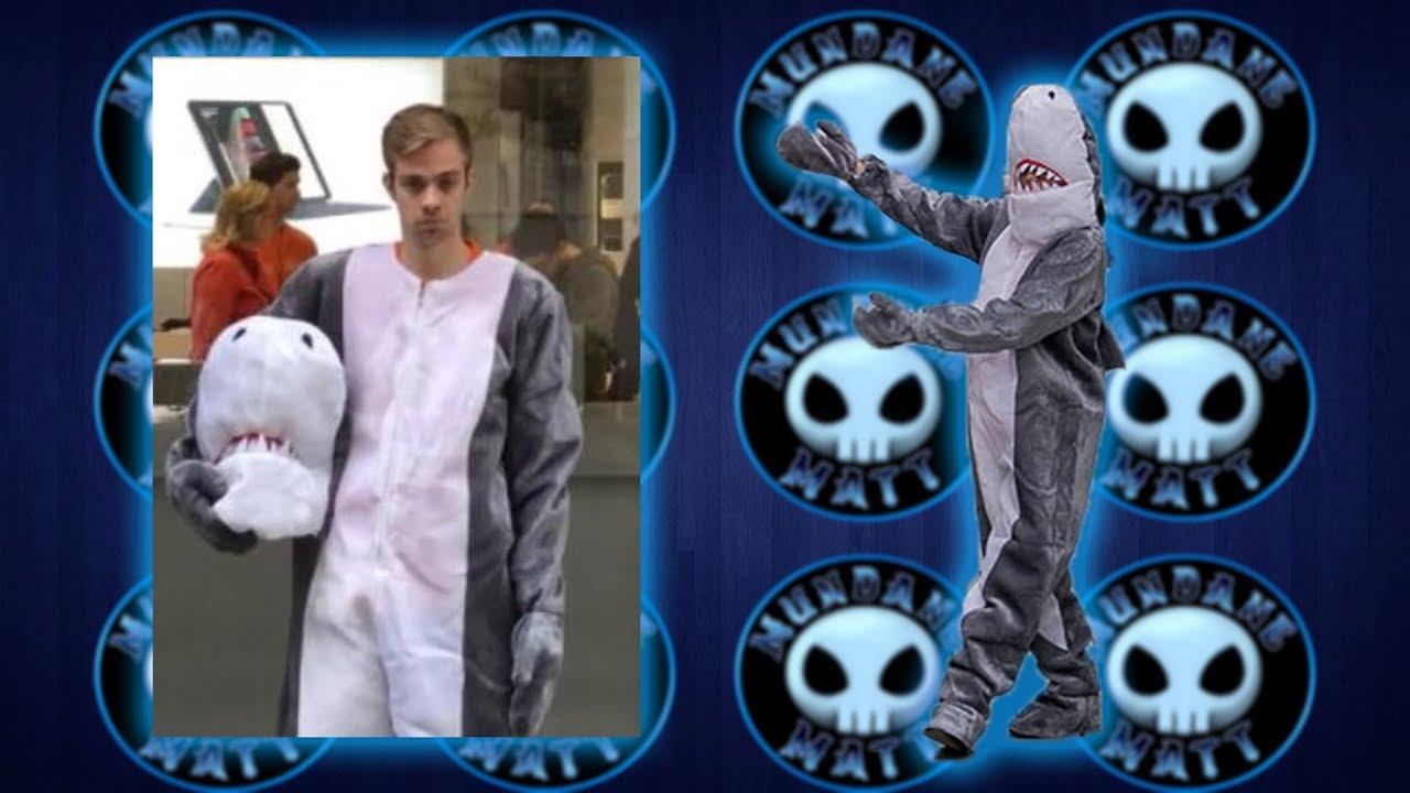 Austrian Man Wearing Shark Costume Fined Under Anti Bur Doovi