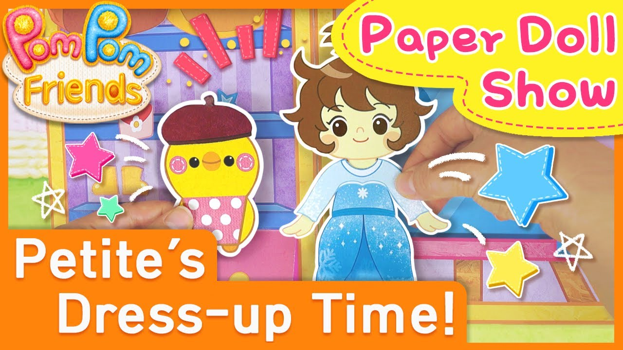 Petite's Dress up Time | Puppet Show