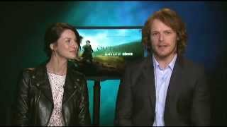 outlander   interview w caitriona balfe sam heughan on northwest