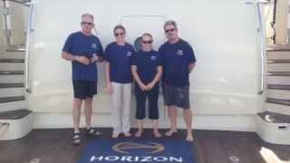 Horizon Yacht USA ALS Ice Bucket Challenge!
