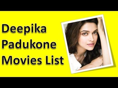 Deepika Padukone Movies List - YouTube