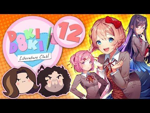 Doki Doki Literature Club!: Just Too Hot - PART 12 - Game Grumps thumbnail